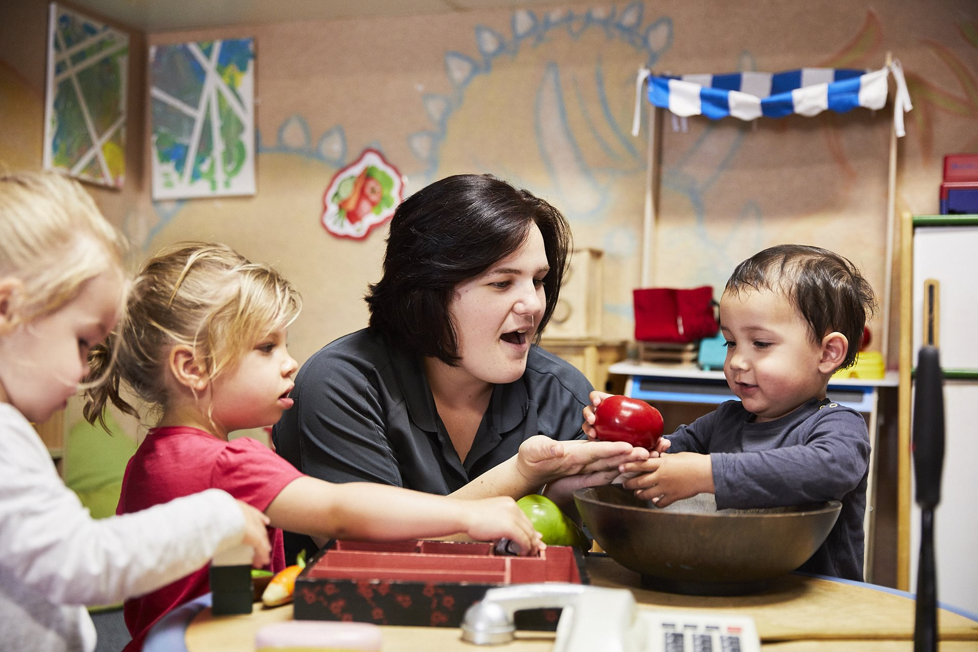 Our Child Care Educators provide individualised care and attention